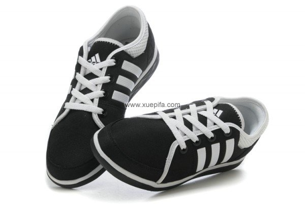 Adidas阿迪三叶草自行车4代最新款白黑男