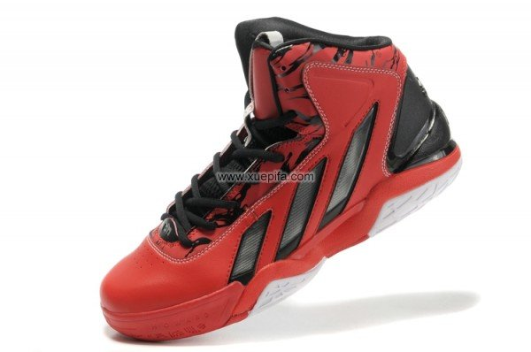 Adidas阿迪霍华德篮球鞋2代签名战靴红黑男
