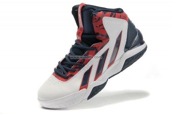 Adidas阿迪霍华德篮球鞋2代签名战靴白黑红男